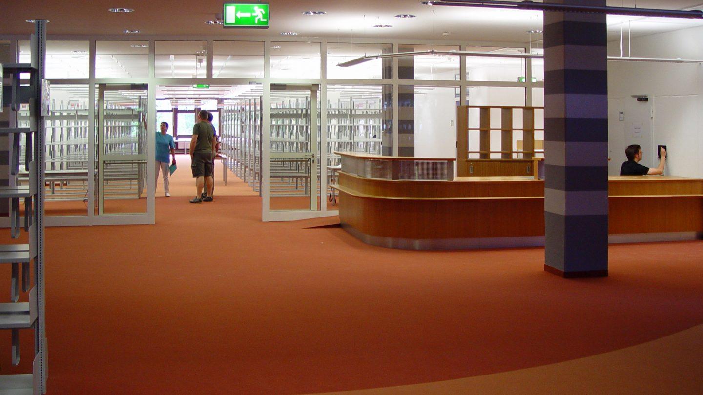 Umzug der Bibliothek
