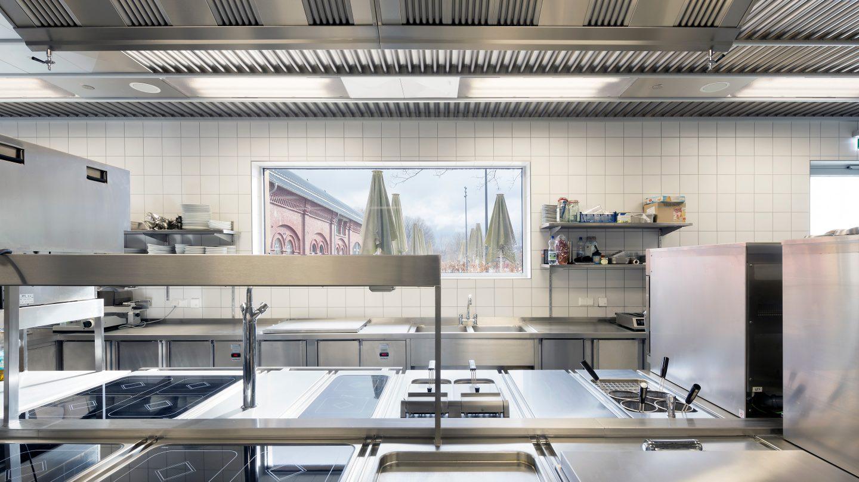 Die neue, leistungsstarke Küche