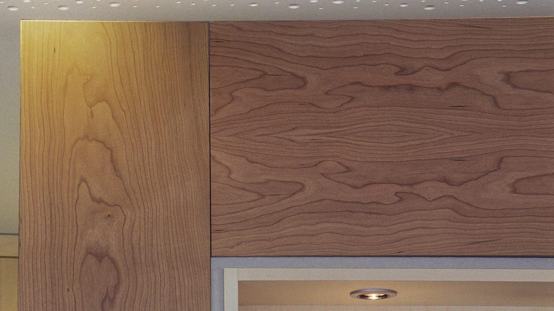 Detail Ausbau Holz