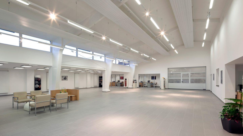 Showroom & Bürobereiche