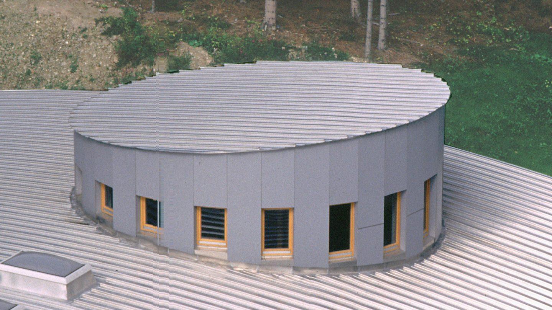 Detail Dachkonstruktion